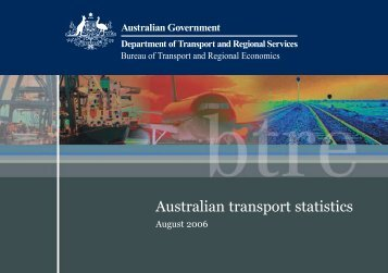 PDF: 573 KB - Bureau of Infrastructure, Transport and Regional ...