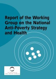 Report of the Working Group on the National Anti-Poverty Strategy ...