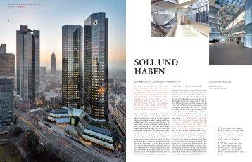 SOLL UND HABEN - Lindner Group