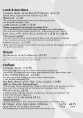 A La Carte Menu - Cafe Rickshaw - Page 5