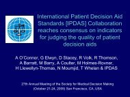 2005 IPDAS Collaboration Reaches Consensus On Indicators For ...