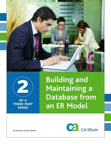 Building and Maintaining a Database from an ER Model