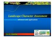 Landscape Character Assessment