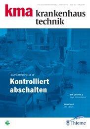 krankenhaus technik - kma Online
