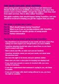 Young PeoPle's guide to transition - Page 3