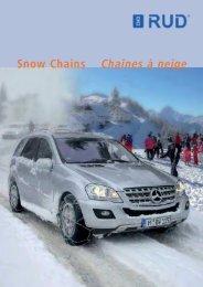 Snow Chains Chaînes à neige - RUD