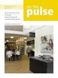 November 2011 - West Hertfordshire Hospitals NHS Trust