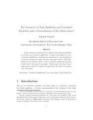 The Geometry of Nash Equilibria and Correlated Equilibria and a ...