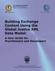 Building Exchange Content Using the Global Justice XML Data Model: