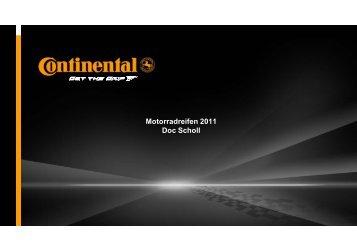 Motorradreifen 2011 Doc Scholl - DOC SCHOLL, Fahrertraining