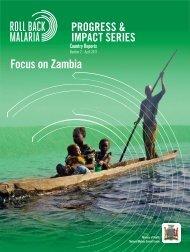 Focus on Zambia - Roll Back Malaria - World Health Organization