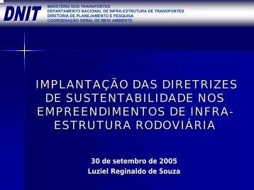 Ministério do Meio Ambiente Secretaria de Qualidade ... - Sinaenco