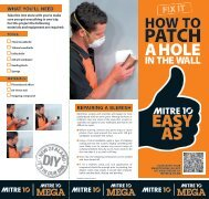 Download the guide - Mitre 10