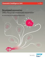 Developed economies - management thinking - Economist ...