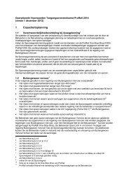 Operationele voorwaarden toegangsovereenkomst ProRail 2014