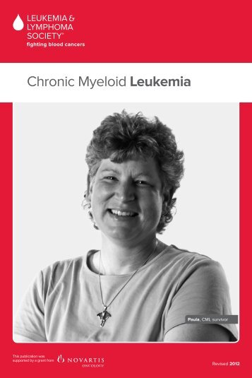 Chronic Myeloid Leukemia - The Leukemia & Lymphoma Society