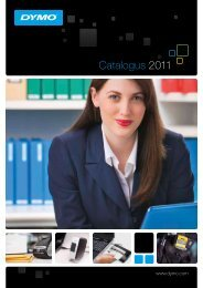 Catalogus 2011 - DYMO