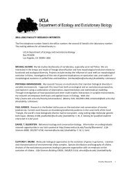 2011-‐2012 faculty research interests - UCLA Department of ...