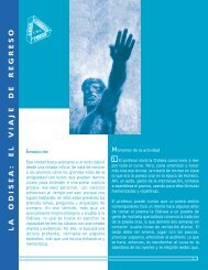 la odisea: el viaje de regreso - Sector Lenguaje y Comunicación
