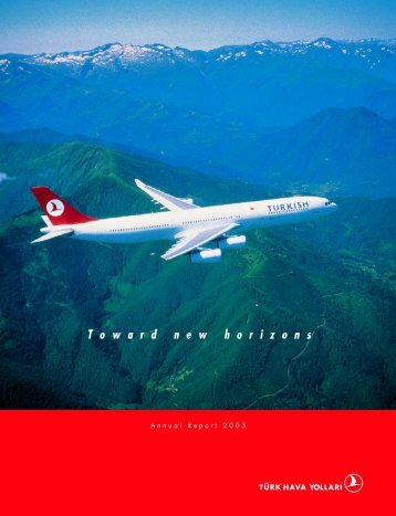 2003 Annual Report - Turkish Airlines