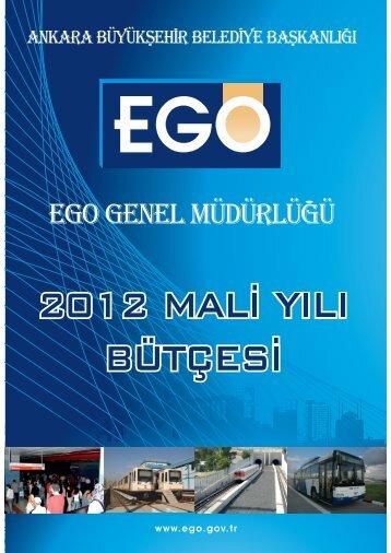 2012 yılı mali bütçe - Ego