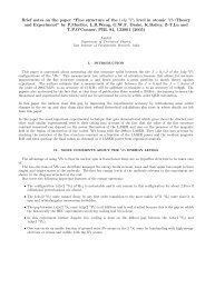 Review of a paper in atomic physics - Department of Theoretical ...