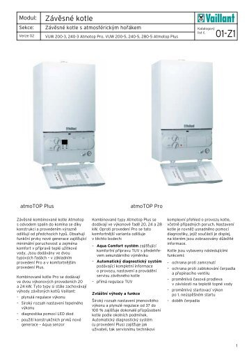 Vaillant VUW atmoTOP Pro Plus technická dokumentace.pdf