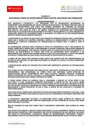 prospecto - Santander