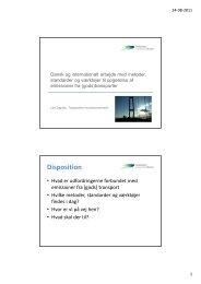 Metoder, standarder og opgørelser - Transportens Innovationsnetværk