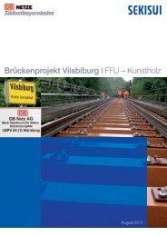 Brückenprojekt Vilsbiburg I FFU – Kunstholz