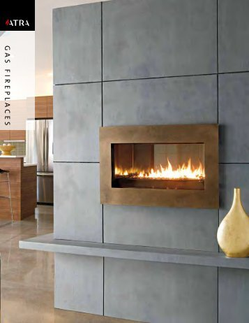 Atra Gas Fireplace Brochure - The Firebird