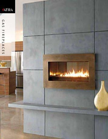 Atra Gas Fireplace Brochure - The Firebird