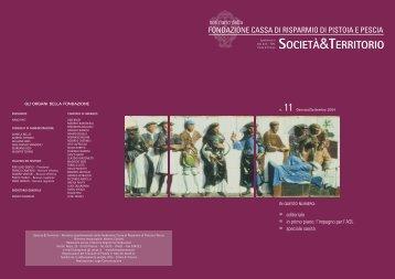 n.11 - Gennaio/Settembre 2004 - Fondazione Cassa di Risparmio di ...