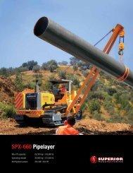 SPX-660 Pipelayer - Worldwide Machinery