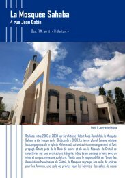 La Mosquée Sahaba 4 rue Jean Gabin - Créteil