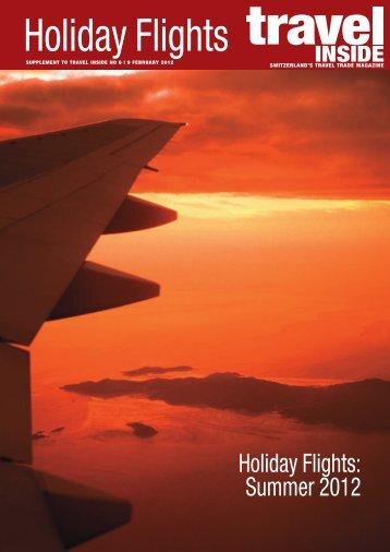 Holiday Flights: Summer 2012
