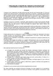 LINEE GUIDA PER LA GESTIONE DELL'ASSEGNO DI CURA ...