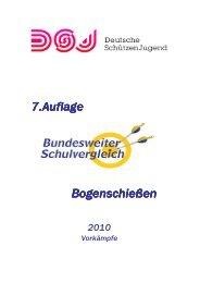 Bundesweiter Schulvergleich im Bogenschießen 2010