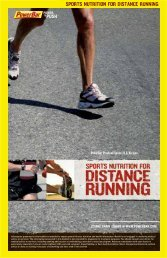 sports nutrition for triathlon sports nutrition for ... - PowerBar.Com