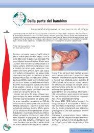 Dalla parte del bambino - La neonatal developmental care ... - Ipasvi