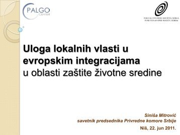 Uloga lokalnih vlasti u procesu evropskih integracija u oblasti zaštite ...