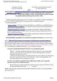 ORDIN privind modificarea Ordinului ministrului sănătăţii şi al ...