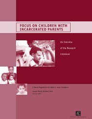 Focus on Children with Incarcerated Parents: An Overview