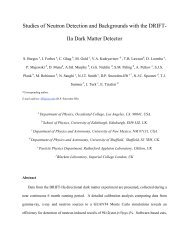 Studies of Neutron Detection and Backgrounds with the DRIFT- IIa ...