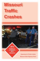 Missouri Traffic Crashes - State Highway Patrol