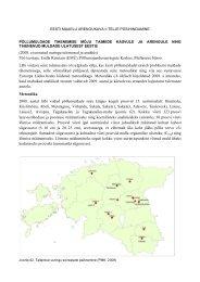 Uuringu kokkuvõte 2009 - Põllumajandusuuringute Keskus