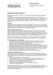 REINIGUNG TRESPA TOPLAB - Trespa.info