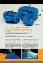 Improving Electric Motor Cooling System Efficiency