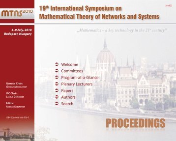 PROCEEDINGS - Conferences.hu