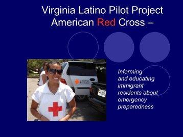 Red Cross Latino Survey